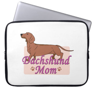 Dachshund Mom 2 Computer Sleeve