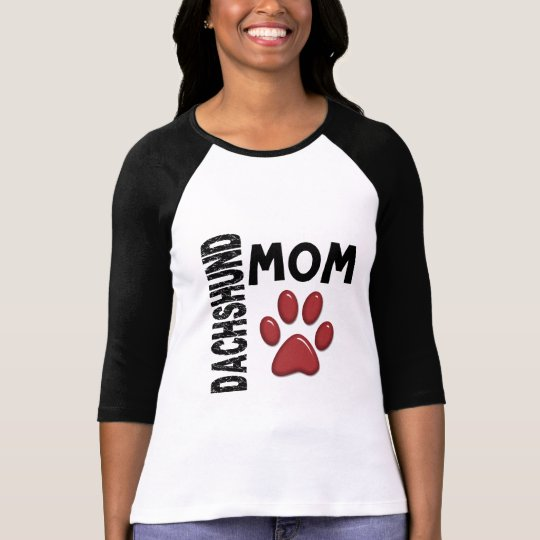 Dachshund Mom 2 T-Shirt