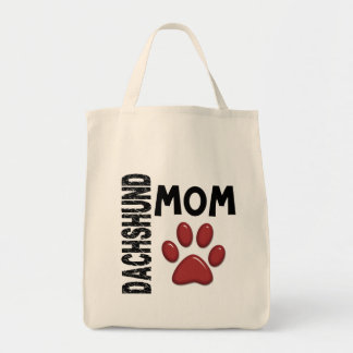 Dachshund Mom 2 Tote Bag