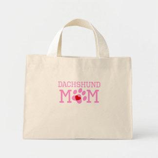 Dachshund Mom Mini Tote Bag
