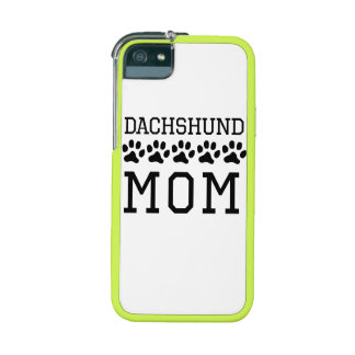 Dachshund Mom iPhone 5/5S Cover