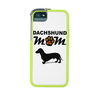 Dachshund Mom Cover For iPhone 5