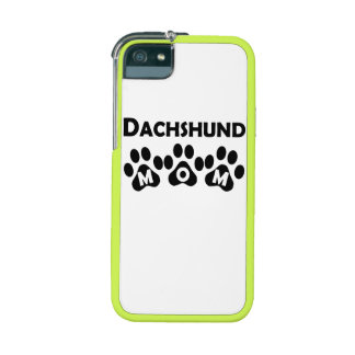 Dachshund Mom Cover For iPhone 5/5S