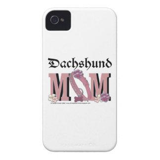 Dachshund MOM iPhone 4 Case