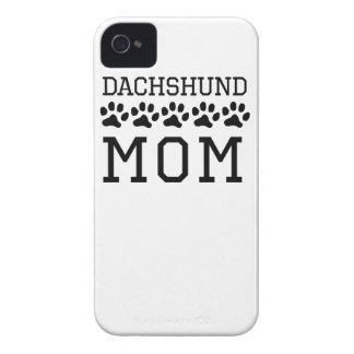 Dachshund Mom Case-Mate iPhone 4 Cases