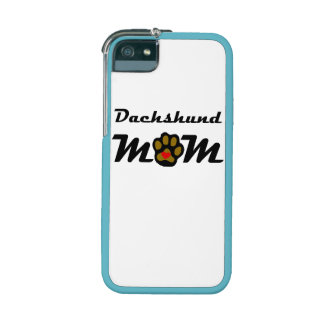 Dachshund Mom iPhone 5/5S Cases