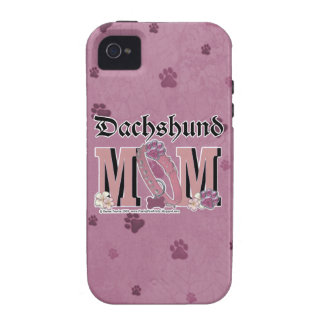 Dachshund MOM iPhone 4/4S Cover