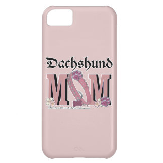 Dachshund MOM Case For iPhone 5C