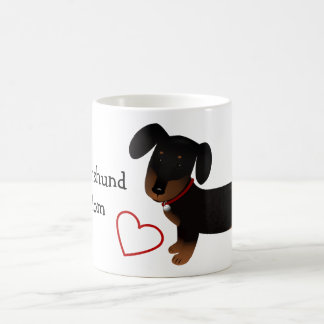 Dachshund Mom Coffee Mug