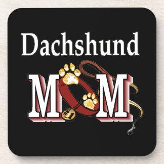 Dachshund Mom Gifts Coaster
