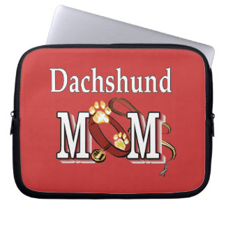 Dachshund Mom Gifts Laptop Sleeve