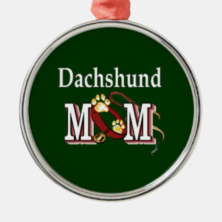 Dachshund Mom Gifts Metal Ornament