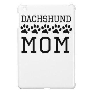 Dachshund Mom iPad Mini Cases