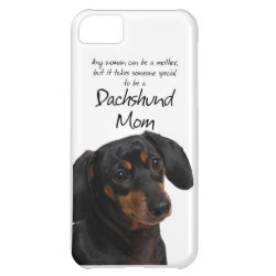 Case-Mate Barely There iPhone 5C Case with Dachshund Phone Cases design