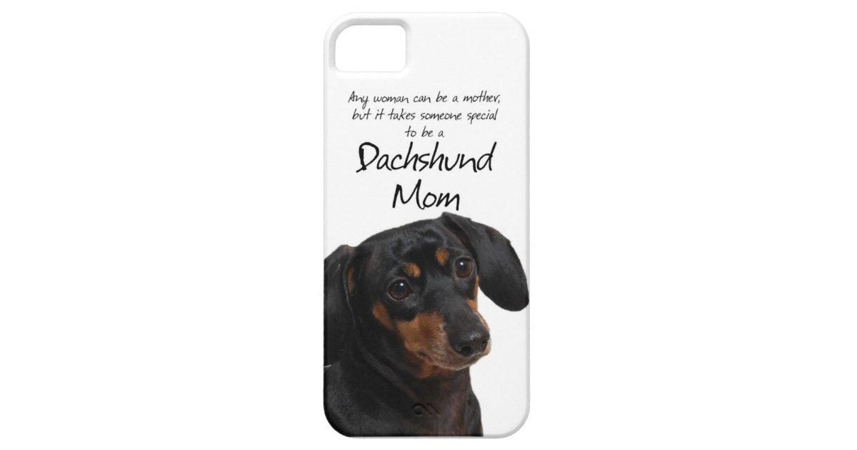 Dachshund Mom iPhone 5 Case : Zazzle