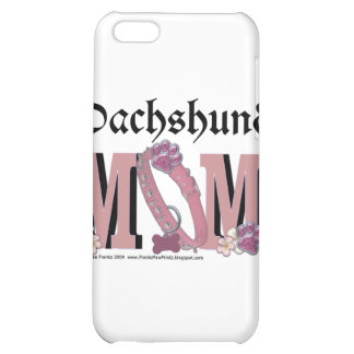 Dachshund MOM iPhone 5C Case