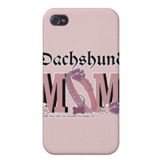Dachshund MOM Case For iPhone 4