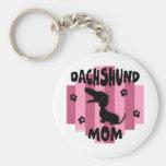Dachshund Mom Keychain