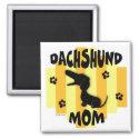Dachshund Mom Magnet magnet
