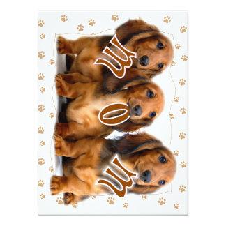 Dachshund MOM Merchandise Card