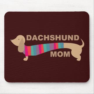 Dachshund Mom Mouse Pad
