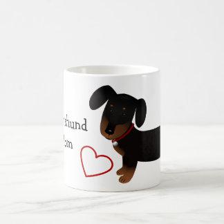 Dachshund Mom Classic White Coffee Mug