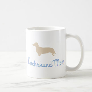 Dachshund Mom ! Coffee Mugs