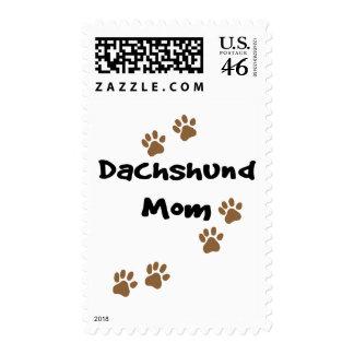 Dachshund Mom Postage Stamps