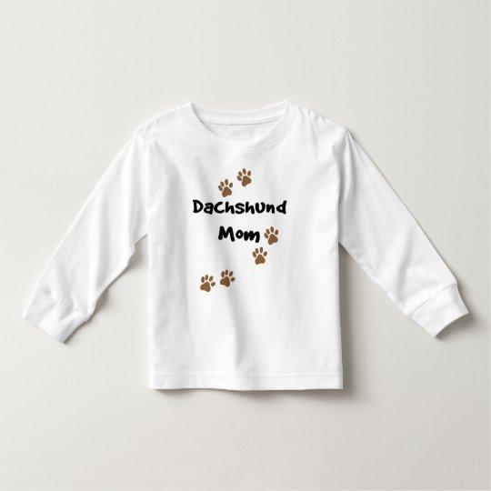 Dachshund Mom Toddler T-shirt