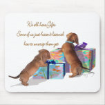 Dachshund Moments Mouse Pad