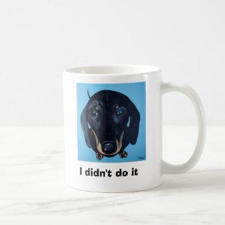Dachshund Mug - I didn t do it