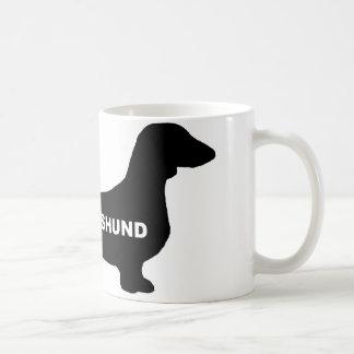 dachshund name silo coffee mug