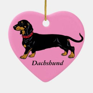 dachshund negro ornamente de reyes