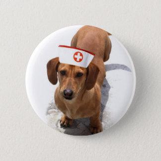 Dachshund nurse button