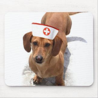 Dachshund nurse mousepad