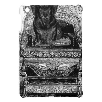 Dachshund On Throne Crown Dog iPad Mini Covers