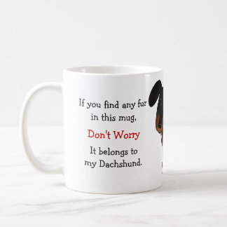 Dachshund Owner Humor Classic White Coffee Mug