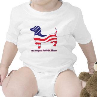 Dachshund patriótico - Doxie Camiseta