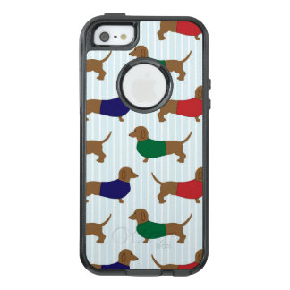 Dachshund Pattern Otterbox iPhone SE/5 Plus Case