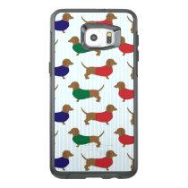 Dachshund Pattern Otterbox Samsung S6 Plus Edge OtterBox Samsung Galaxy S6 Edge Plus Case