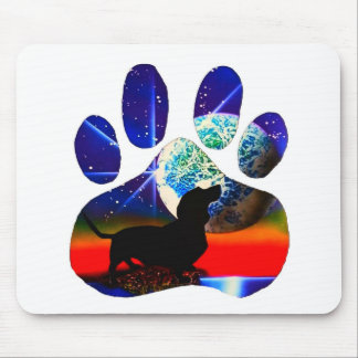 Dachshund Paw Mouse Pad
