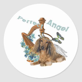 Dachshund Perfect Angel Stickers