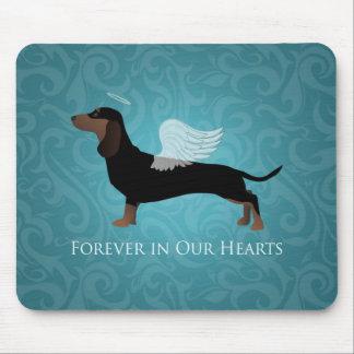 Dachshund - Pet Loss Memorial Design Mouse Pad