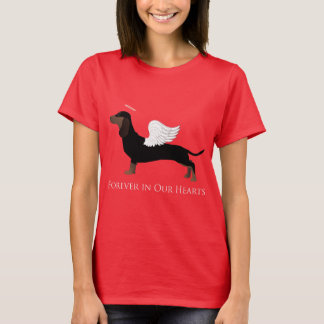 Dachshund - Pet Loss Memorial Design T-Shirt