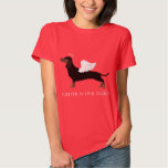 Dachshund - Pet Loss Memorial Design Tee Shirt