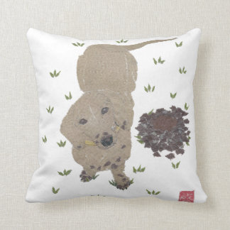 Dachshund Pillow, Weiner Dog Throw Pillow