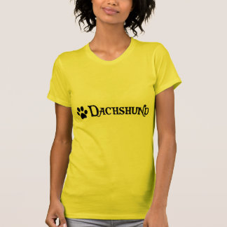 Dachshund (pirate style w/ pawprint) T-Shirt
