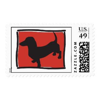 Dachshund Postage
