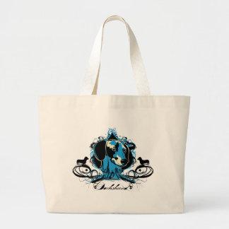 Dachshund Projekt Dog Illustration Bag