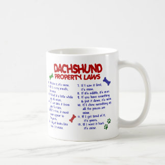 Dachshund Property Laws 2 Coffee Mug